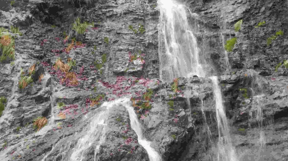 Una cascata