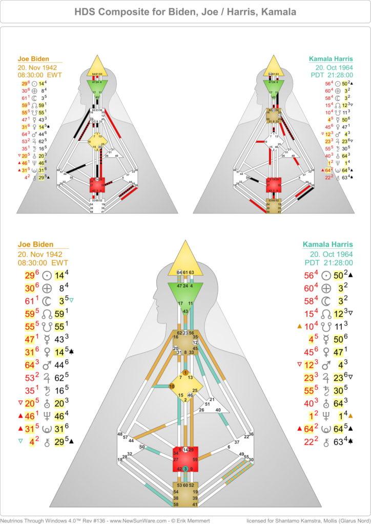 Biden Harris composite Chart